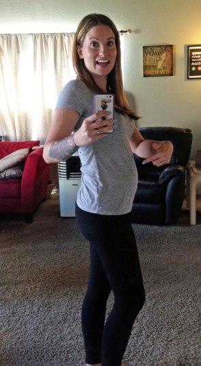 pregnant? yup.